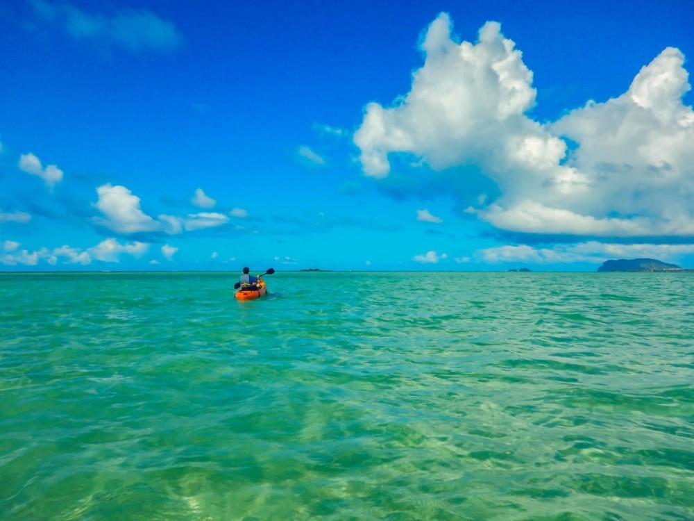 Kaneohe Bay Sunken Island